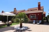 200-0402, Attractive, Spacious Three Bedroom Detached Villa With Large Garden & Solarium On El Raso, Guardamar Del Segura.