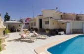 100-2100, Spacious, Beautifully Presented, Two Bedroom, Two Bathroom Semi-Detached Villa With Private Pool & Garage in Ciudad Quesada.