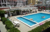 200-0403, GREAT LOCATION! Superb, South Facing, Two Bedroom First Floor Apartment With Sea Views In Mar Azul, Torrevieja.