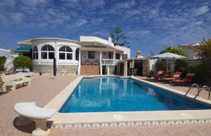 Ref:100-2184-Three Bedroom Detached Villa In San Luis, Torrevieja.-Alicante-Spain-Villa-Resale