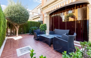 200-1186, Two Bedroom Ground Floor Apartment In ZeniamarVIII, Playa Flamenca.