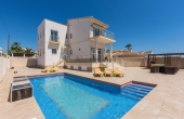 200-0417, Fabulous, Modern, Luxurious Four Bedroom Detached Villa With Private Pool & Solarium In Ciudad Quesada.