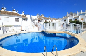 Ref:200-1212-Two Bedroom Townhouse In El Chaparral, Torrevieja.-Alicante-Spain-Townhouse-Resale