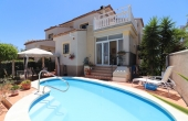 200-0440, Outstanding, Three Bedroom Detached Villa With Private Pool & Solarium In Montebello, Algorfa.