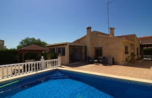 Ref:100-2195-Three Bedroom Detached Villa In Central Ciudad Quesada.-Alicante-Spain-Villa-Resale