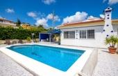 200-0048, Beautiful & Very Spacious Three Bedroom Detached Villa With Private Pool With Sea Views In Ciudad Quesada.