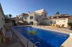 Ref:100-2200-Six Bedroom Detached Villa In Central Ciudad Quesada.-Alicante-Spain-Villa-Resale