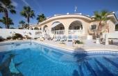 200-0050, Beautiful, Spacious, Three Bedroom Corner Plot Detached Villa With Private Pool & Solarium With Great Views In La Fiesta, Ciudad Quesada.