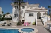 200-0052, Impressive, Four Bedroom Detached Villa With Private Pool & Solarium In La Fiesta, Ciudad Quesada.