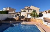 200-0058, Impressve & Stylish, Four Bedroom Detached Villa With Pool, Garage, Solarium & Guest Apartment In La Fiesta, Ciudad Quesada.