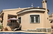 200-0082, Super, Two Bedroom Detached Villa With Private Pool & Solarium in Ciudad Quesada.